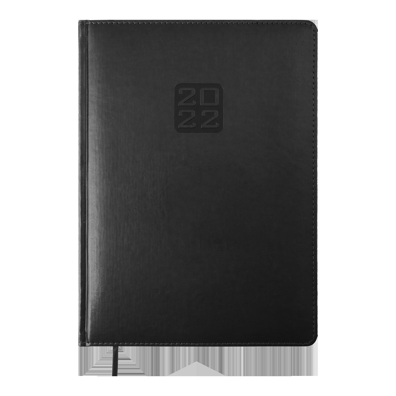 Ежедневник датированный 2022 BuromaxBRAVO (Soft),черный