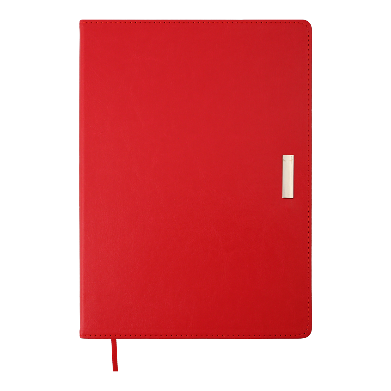 Ежедневник датированный 2022 BuromaxSALERNO,красный