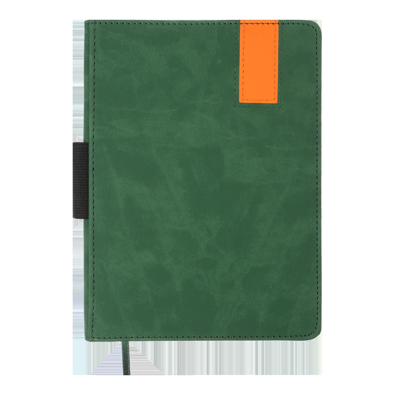 Ежедневник недатированный Buromax VERONA, зеленый с золотом
