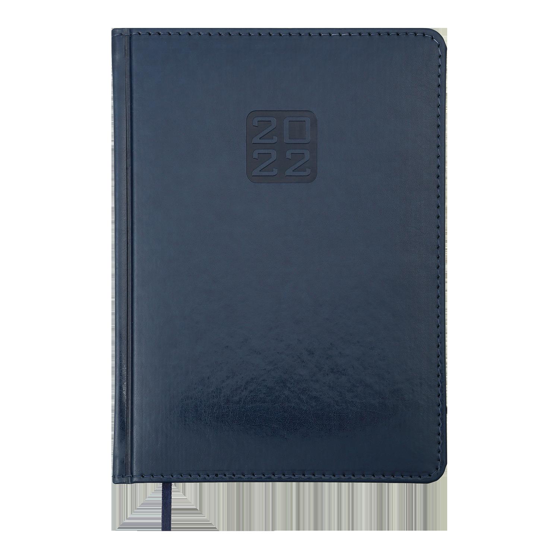 Ежедневник датированный 2022 Buromax BRAVO (Soft), синий