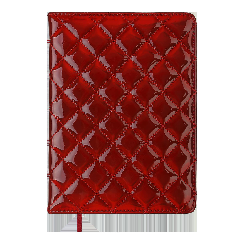 Ежедневник датированный 2022 BuromaxDONNA,красный