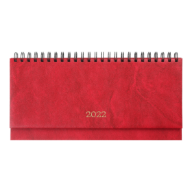 Планинг датированный 2022 BuromaxBASE,красный