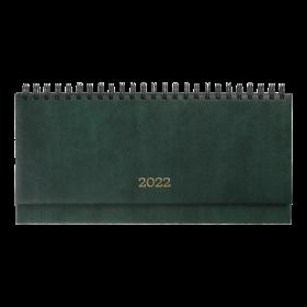 Планинг датированный 2022 BuromaxBASE,зеленый