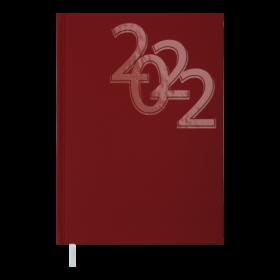 Ежедневник датированный 2022 BuromaxOFFICE,красный
