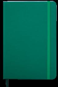 Ежедневник датированный 2022 BuromaxTOUCHME,зеленый
