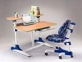 Детский стол Mealux BD-205 WB бук + полка BD-PK5