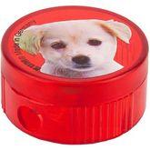 """Точилка круглая """"Dog"""", пластиковый корпус, контейнер, полибэг (206K1 dog)"""