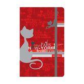 Книга записная, A5-, 80 листов, клетка, Catsline (8401-17-А)